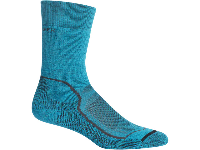 Icebreaker Hike+ Medium Crew Socks Women arctic teal